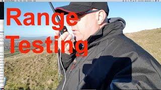 Testing The Range Multiplying  Counterpoise UV 5R