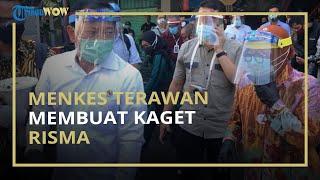 Momen Menkes Terawan dan Wali Kota Risma Gunakan Pengeras Suara saat Sidak ke Pasar: Ayo Jaga Jarak