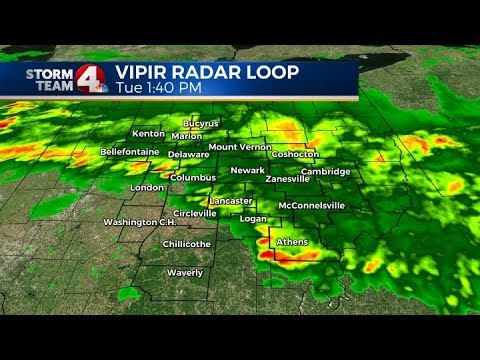 NBC4 Live VIPIR Radar Central Ohio Weather