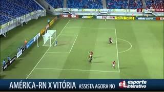 América-RN 0x1 Vitória