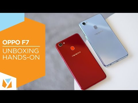 OPPO F7 Unboxing, Hands-On
