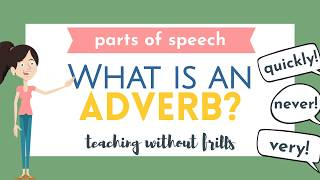 Parts of Speech for Kids: What is an Adverb?