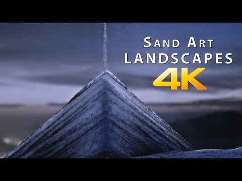 We Can't Stop Watching This Video Of Flowing Sand Art