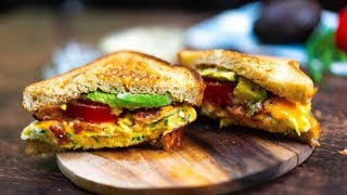 Avocado Breakfast Sandwich Recipe
