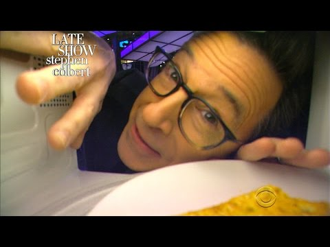 Stephen Reaches Out To President Obama Via Microwave