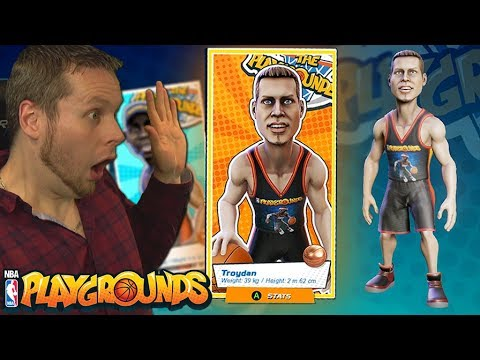 I'M IN A VIDEO GAME!!! NOT CLICKBAIT!!! NBA PLAYGROUNDS!