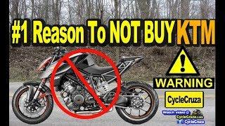#1 Reason To NOT BUY a KTM Motorcycle (DEAL BREAKER!)