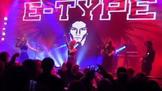"""E-Type """"I Just Wanna Be With You"""" (Live @ MS Viking Grace January 9, 2016)"""