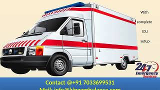 Hire Low-Fare Road Ambulance in Ranchi and Delhi by King