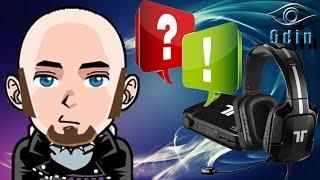 Odin antwortet #08 Spezial - Tritton PRO+ 5.1 Headset Anschlussmöglichkeit PS4/PC