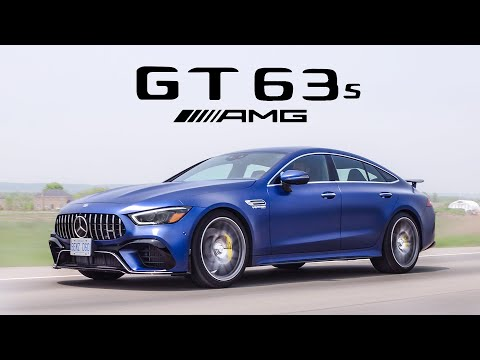 External Review Video 94hp3Oqel5Y for Mercedes-AMG GT 4-Door Coupe Sedan (X290)