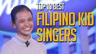 Top 10 BEST Filipino Kid Singers on Talent Shows Worldwide!