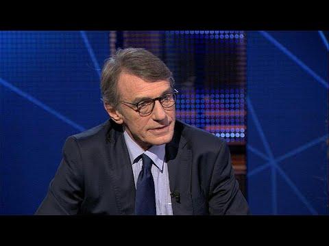 Εφ' όλης της ύλης συνέντευξη του Νταβίντ Σασόλι στο Euronews…