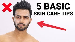 5 Skin Care Tips For Men(winter skincare routine) fight pimples and oily skin.