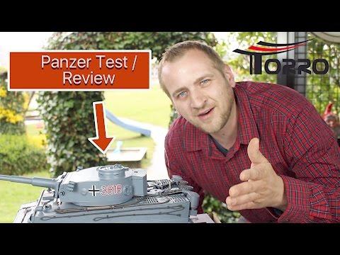 TORRO TIGER 1 RC PANZER im Test / Review Deutsch HENG LONG