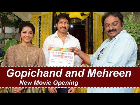 Gopichand 25 Film Opening