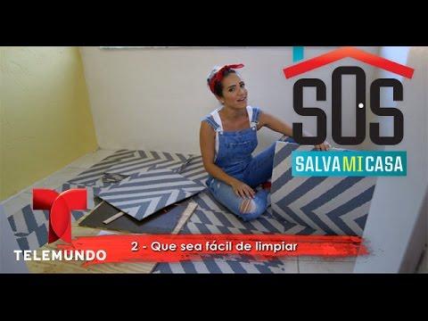 SOS Salva Mi Casa 2 | Video: Cómo instalar alfombras cuadradas en tu hogar | Telemundo