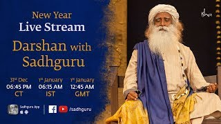 New Year Live Stream | Darshan with Sadhguru