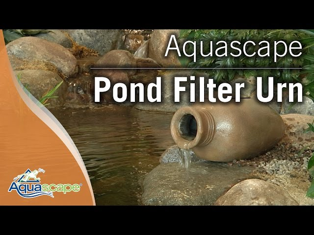 Filtration for Small Water Features with Aquascape's Pond Filter Urn