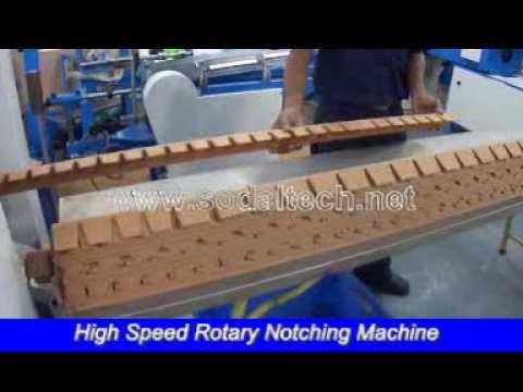 Edge Board Rotary Notching Machinery