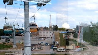 My First Time Riding the Disney Skyliner | Before Grand Opening