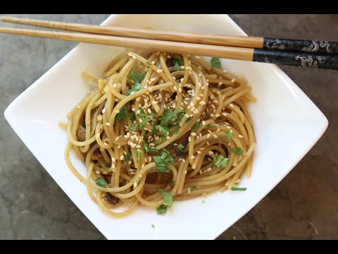 Ginger Noodles recipe by SAM THE COOKING GUY