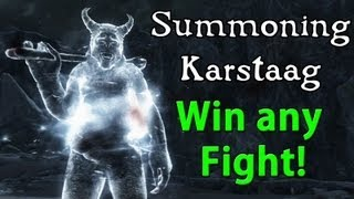 Skyrim - how to summon The most powerful Boss in  the game Secret