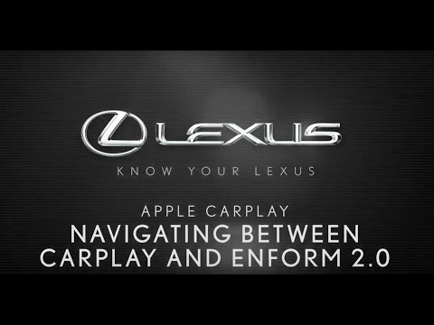 How To Navigate Between Apple CarPlay And Enform 2.0