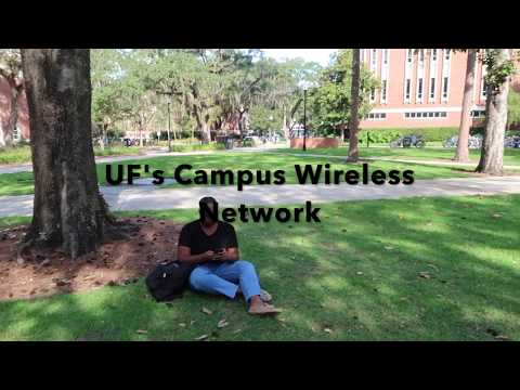 UF Campus Wireless Network Video