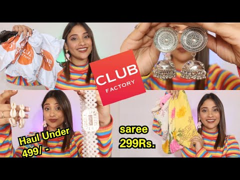 Club factory haul    New year new look sale    Jewelry fashion under 399 Rs.