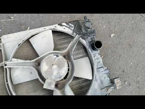 потек радиатор, замена радиатора охлаждения опель вектра C16NZ