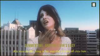Lana Del Rey   Doin' Time |LYRICS + VIETSUB| (Offical Music Video)