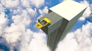 WORLDS HIGHEST SKY JUMP! (Turbo Dismount #4)