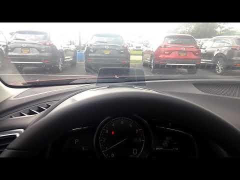 Adjust heads up display 2018 Mazda 3