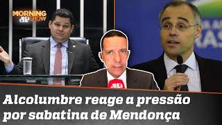 José Maria Trindade: Alcolumbre sequestrou o Senado para atrasar sabatina de Mendonça