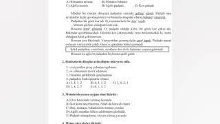 Azərbaycan Dili 8 ci sinif Ksq 5 (Cavablarla)