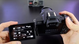 Canon EOS M50 Tutorial - Beginner's User Guide to Buttons & Menus