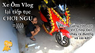 Dán 100 CON VỊT CHỚP ĐÈN lên Xe Điện Pega New Tech chạy khắp Sài Gòn và cái kết
