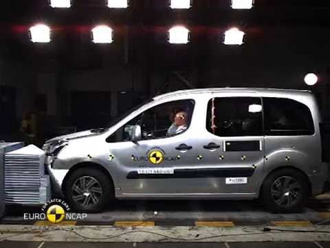 Citroen Euro NCAP Crash Test of Citroën Berlingo 2014 videosu