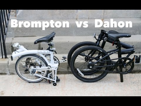 Dahon vs Brompton folding bike – Which is the Best?
