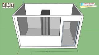 การสร้างห้อง Data Center ทำกันอย่างไร
