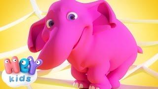 Un Elefante Se Balanceaba - Canción Infantil - HeyKids