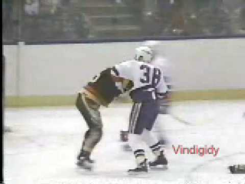 Mick Vukota vs. Garth Butcher
