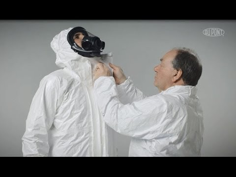 An-und Ablegen von Schutzkleidung - Tychem® 4000 S