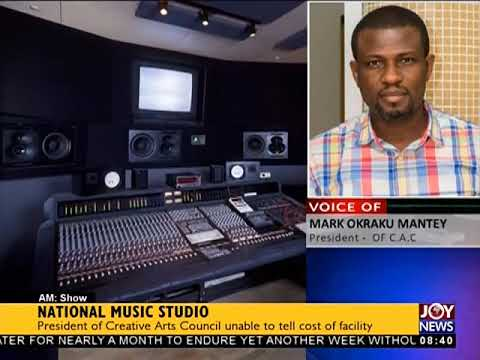 National Music Studio - AM Showbiz on JoyNews (5-10-18)