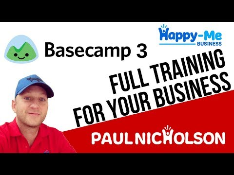 Basecamp 3 Project Setup - YouTube