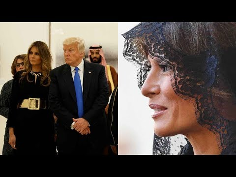 Why Melania covers her head 1 day, not the next?
