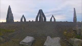 Arctic Henge. On the northern most edge of Iceland. Earth Energies Activated