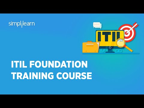 ITIL 4 Foundation Course | ITIL Tutorial For Beginners |ITIL ...