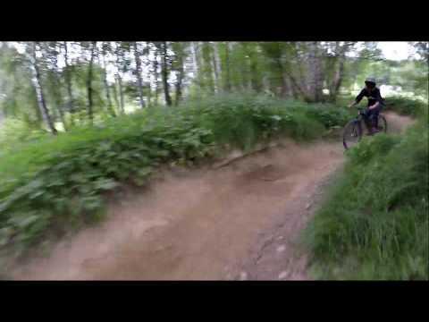 Bikepark Lipno 2019 modrá